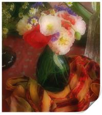 Still Life with Poppies , Print