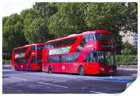 New London Red Bus, Print