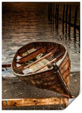 The Rowing boat, Print
