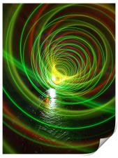 tunnel within a tunnel, Print