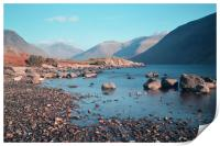 Wast Water on the Rocks, Print