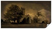 The Parish Church of St Andrew | Texture, Print
