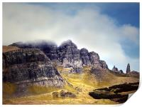 Skye, The Storr and The Old Man, Print