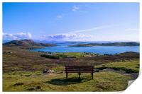 A View of the Summer Isles, Print