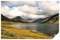 Clouds Over Wastwater, Print