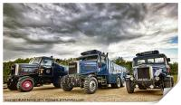 Scammell Family, Print