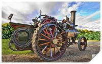 Traction Engine, Print
