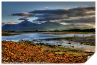 Dundrum Evening, Print