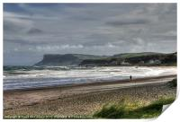 Spring tide at Ballycastle, Print