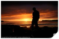 Young Dawn at Ballycastle, Print