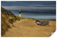 Spurn Point Lighthouse 2012, Print