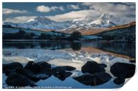 Mirrored Mountains, Print