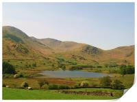 Views from a day in The Lake District., Print