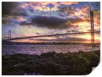 Forth Road Bridge Scotland, Print