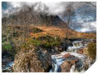 The Buachaille Etive Mor Scotland, Print