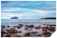 Bass Rock And The Beacon, Print