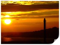 Dundee sunrise over the bay, Print