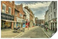 Tiverton Fore St , Print