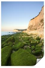 Sunrise at the White Cliffs of Dover, Print