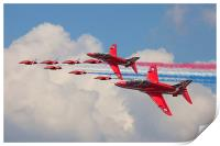 Red Arrows 50th anniversary, Print
