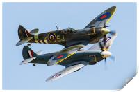 Spitfire Duo, Print