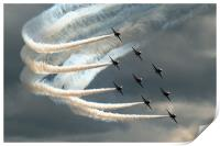 Red Arrows 2, Print