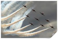 Red Arrows 3, Print