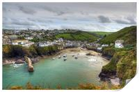Port Isaac Harbour, Print