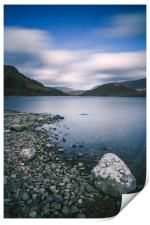 Clouds sweeping over Thirlmere., Print