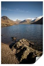 Rugged Wastwater Shore, Print