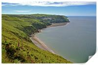 From Countisbury to Lynmouth , Print