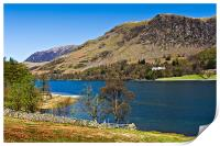 Hassness House, Buttermere, Print