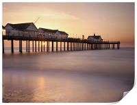 Southwold Pier at Sunrise, Suffolk, Print
