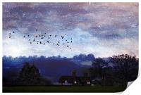 Home to Roost, Print