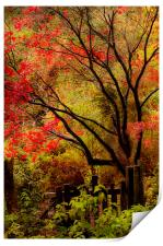 The last flames of Autumn, Print