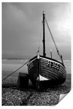 Dungeness Fishing Boat, Print