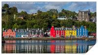 Colourful Tobermory, Print