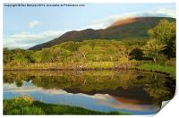Reflections on Loch Etive, Print