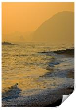 Sidmouth Seafront, Print