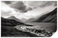 Wastwater in The Lake District, Print