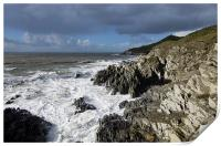 Woolacombe to Morte Point, Print