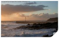 Porthleven in Cornwall, Print