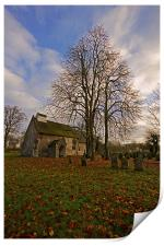St Margaret of Antioch''s Church, Linstead, Print