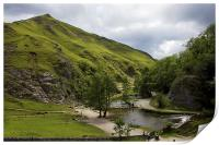 Dovedale Stepping Stones., Print