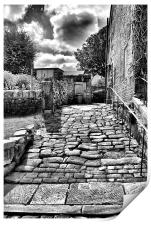 Heptonstall Back Alley, Print