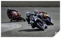 Motorcycle racing, Print