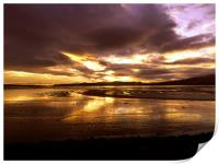 Sunset over the Cromarty Firth, Print