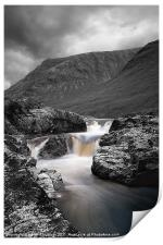 River Etive Selective, Print