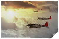 Red Tails, Print
