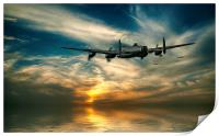 Lancasters Loose Formation, Print
